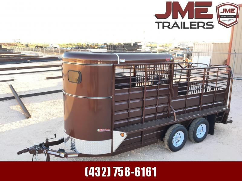 2021 GR Trailers 5'X16' Livestock Trailer