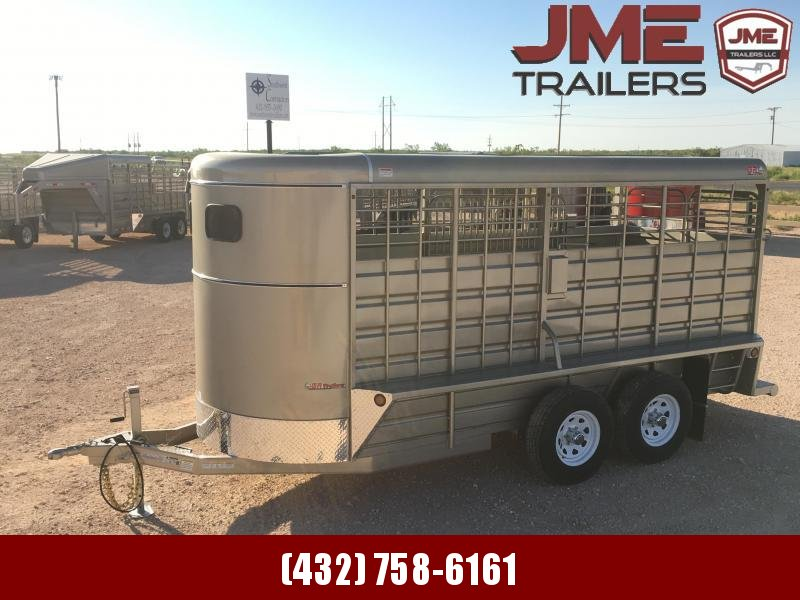 2021 GR Trailers 6'X16' 10.4K Livestock Trailer