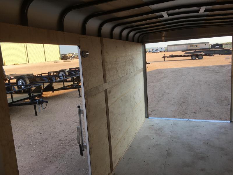 "2021 GR Trailers 77""X14' 7K Enclosed Cargo Trailer"