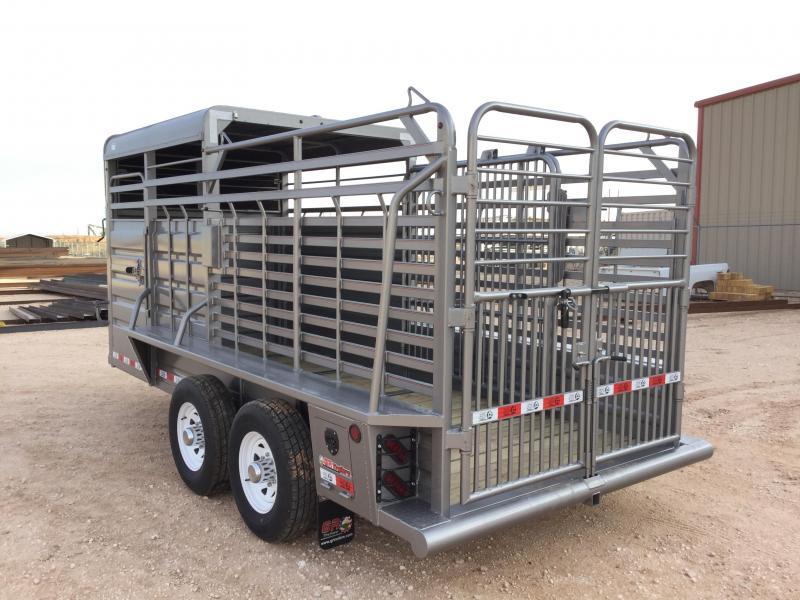 2021 GR Trailers 6'X16' 14K Livestock Trailer