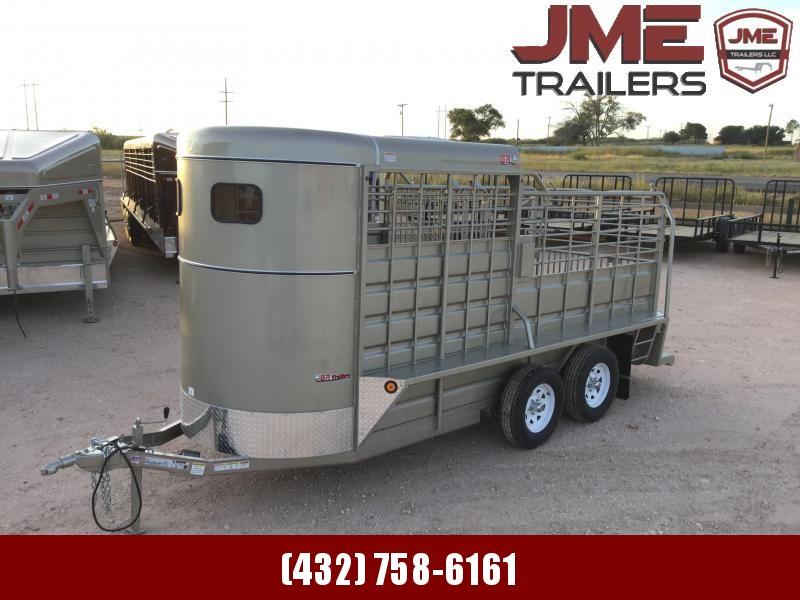 2022 GR Trailers 5'X16' 7K Livestock Trailer