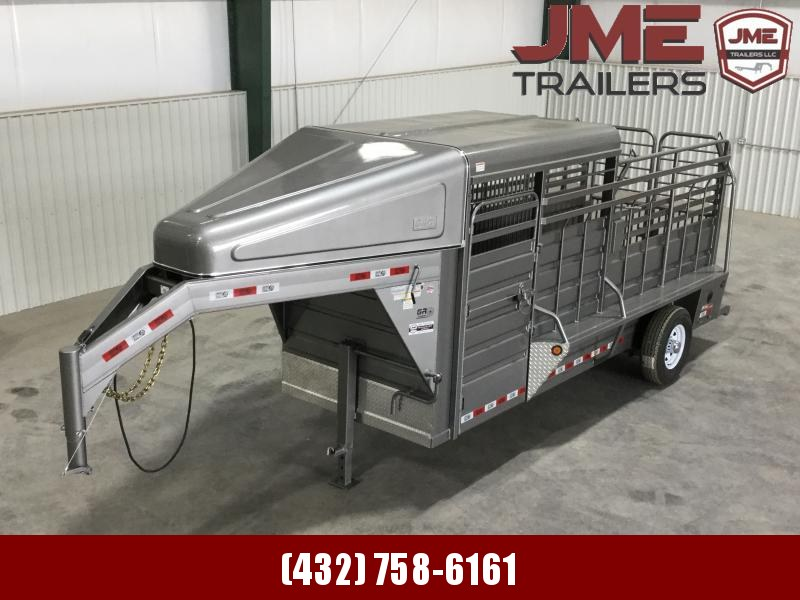 2020 GR Trailers 5'X16' Stock / Stock Combo Trailer