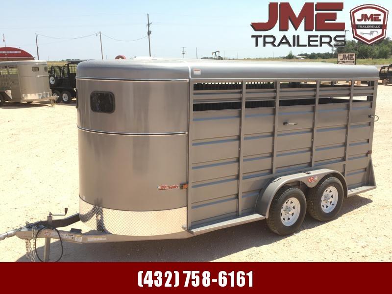2021 GR Trailers 6'X16 7K Livestock Trailer