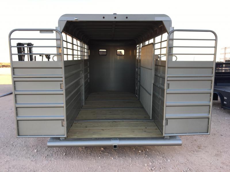 2021 GR Trailers 6'X16' Livestock Trailer