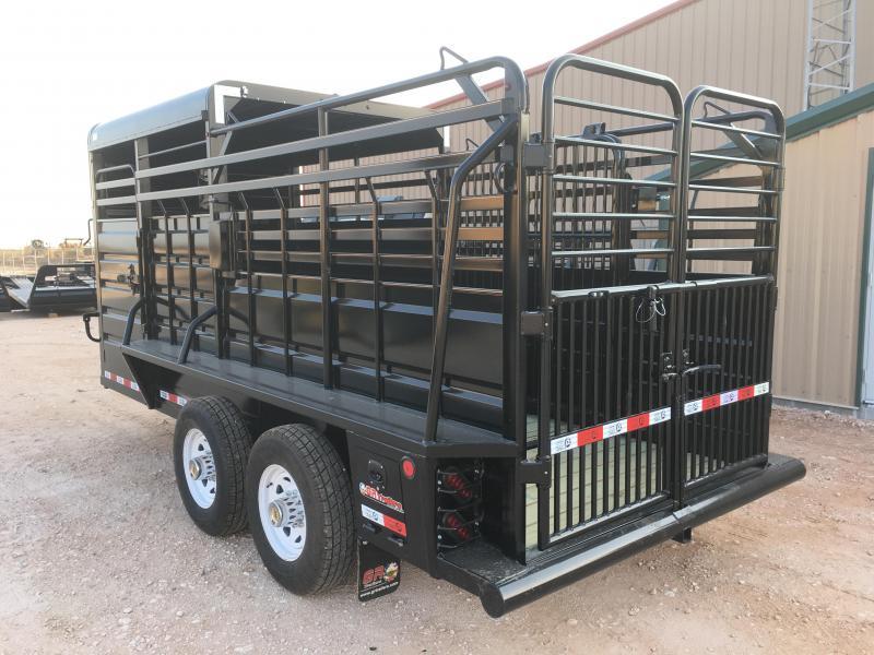 2022 GR Trailers 6'X16' 14K Livestock Trailer