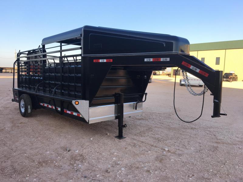 2020 GR Trailers 6'X16' Livestock Trailer