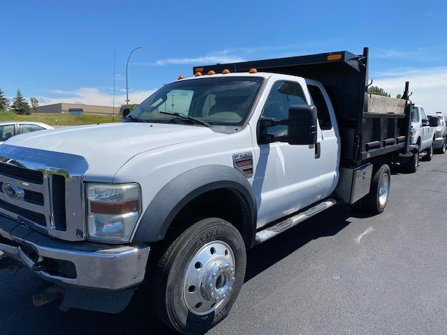 2008 Ford F550 Dump Box Truck