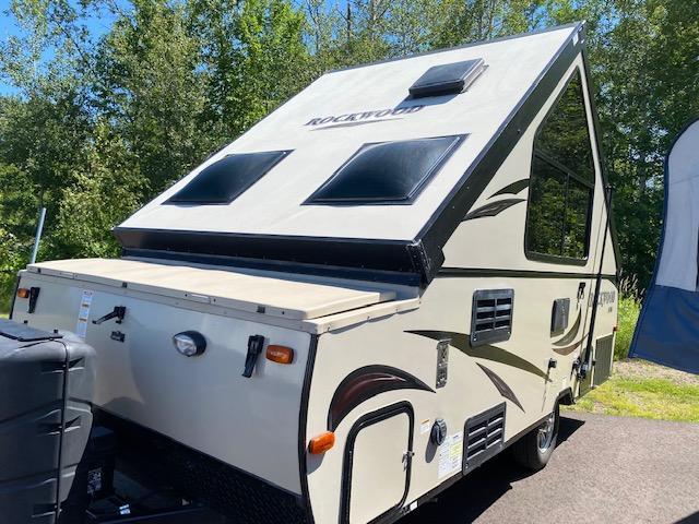 2016 Forest River Rockwood Premier A194HW Expandable Camper Trailer RV