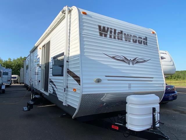 2012 Forest River Wildwood 36BHBS Destination Trailer RV