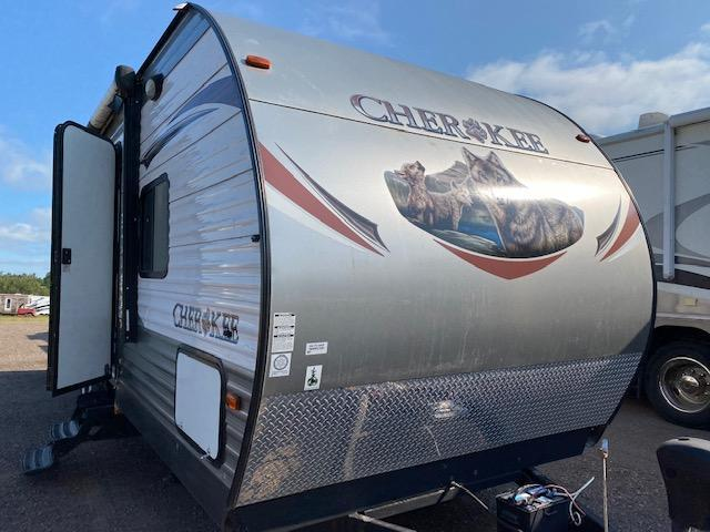 2014 Forest River Cherokee 254 Bunkhouse Travel Trailer
