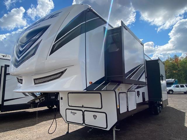 2022 Forest River Vengeance Rogue Armored 351 Toy Hauler Fifth Wheel