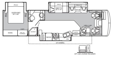2006 Fleetwood Flair 34F Class A RV