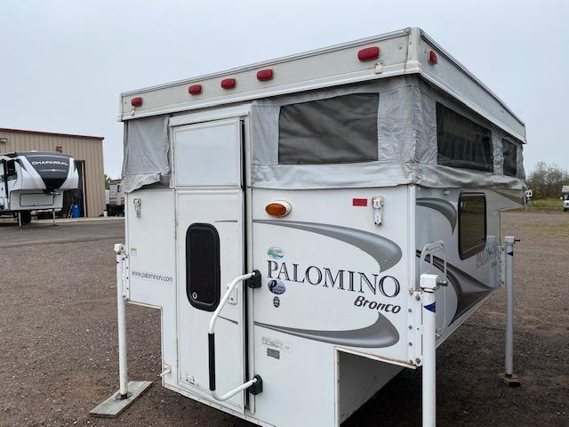 2013 Palomino Bronco D800 SS Truck Bed Camper RV