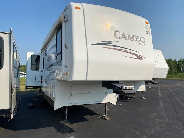 2008 Carriage Inc. Cameo 35SB3 Fifth Wheel Campers RV