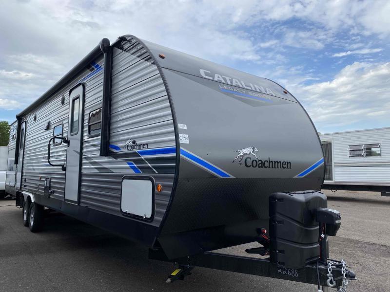 2021 Coachmen Catalina Legacy Edition 323BHDS CK Travel Trailer RV