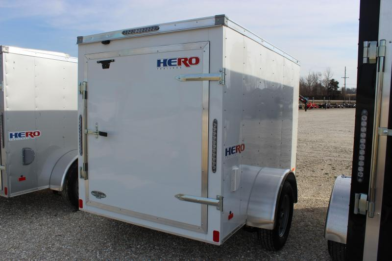 2021 Bravo Trailers 5x8 Hero Enclosed Cargo Trailer
