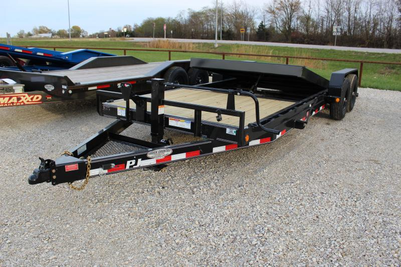 2021 PJ Trailers T6 22' tilt Equipment Trailer