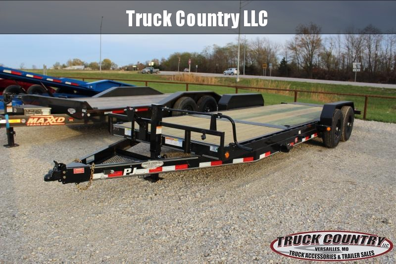 2021 PJ Trailers T6 22' tilt Equipment Trailer