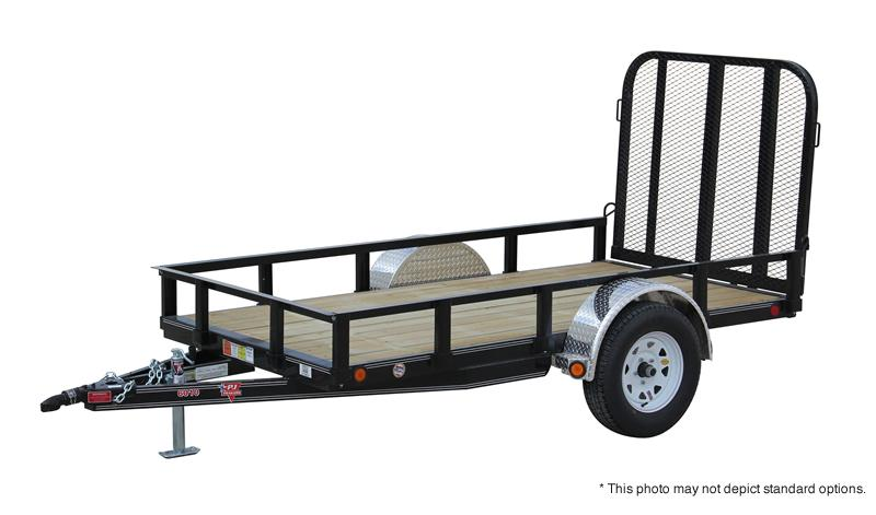 "2021 PJ Trailers 8'x60"" Sngl Axle Channel Utility Trailer"