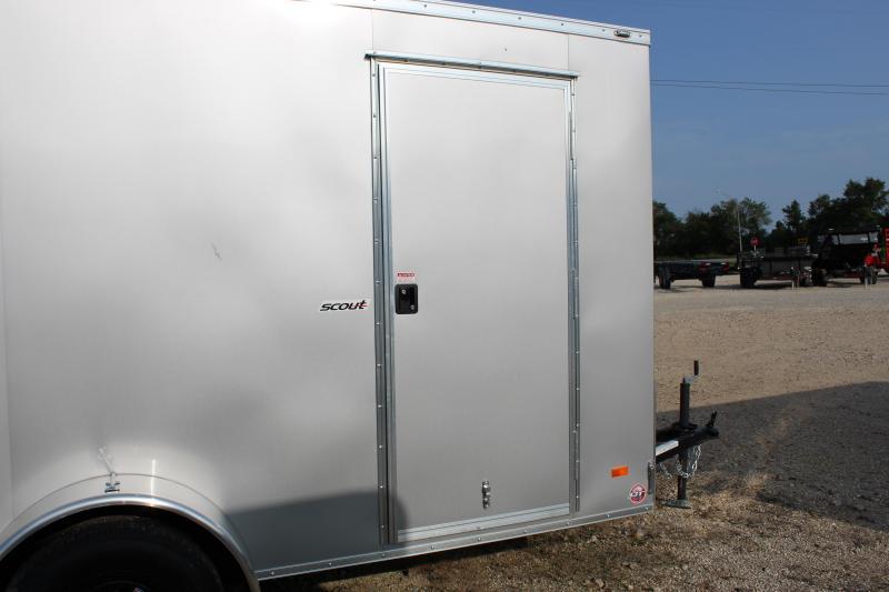 2021 Bravo Trailers 6x12 Enclosed Cargo Trailer