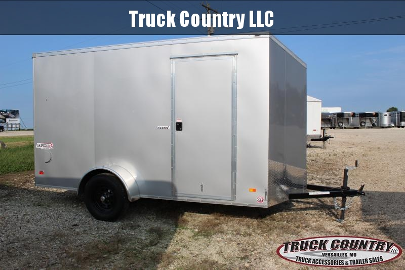 2021 Bravo Trailers 6x12 Enclosed Cargo Trailer