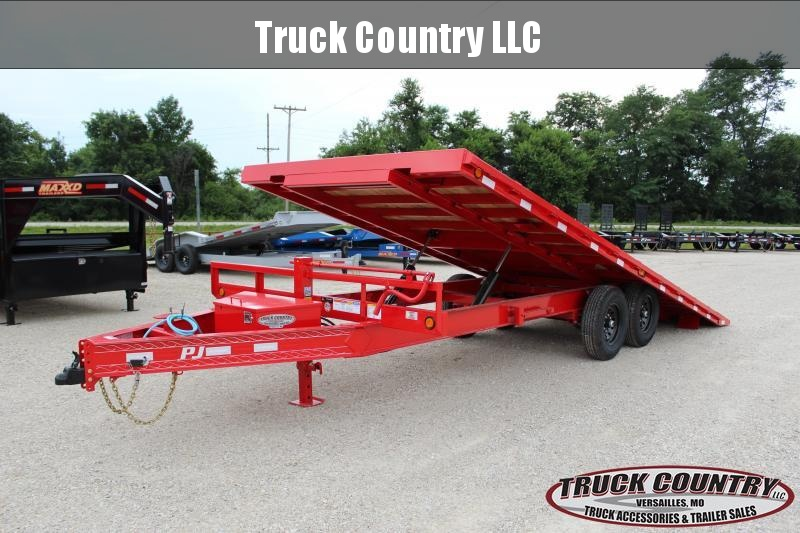 2021 PJ Trailers T8 22' Tilt Equipment Trailer