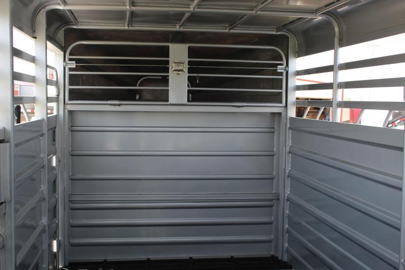 2020 GR Trailers 6.8x24 Livestock Trailer