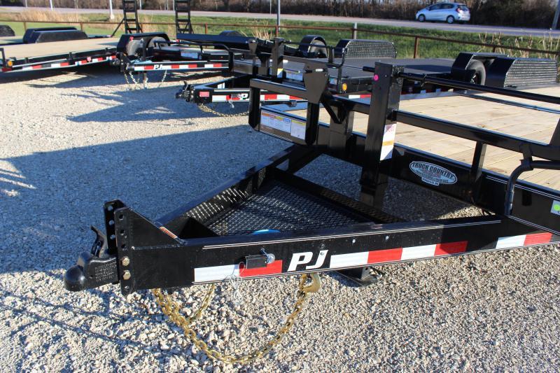 2021 PJ Trailers TJ 24' tilt Equipment Trailer