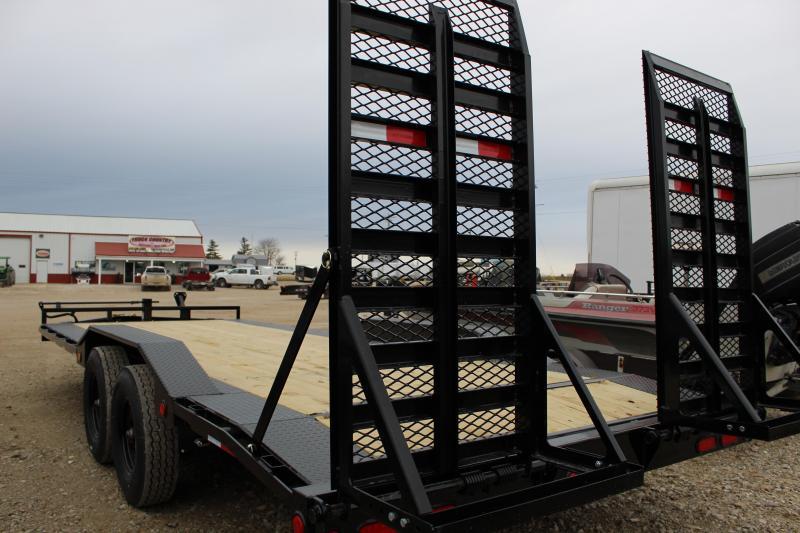2021 PJ Trailers H6 22' superwide Equipment Trailer