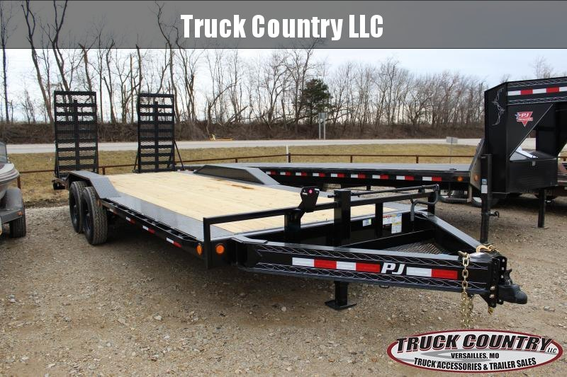 2021 PJ Trailers H6 22' superwide Equipment Trailer