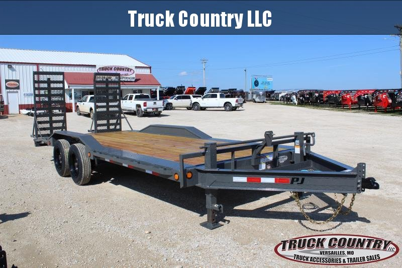 "2020 PJ Trailers H6 102""x20' superwide Equipment Trailer"