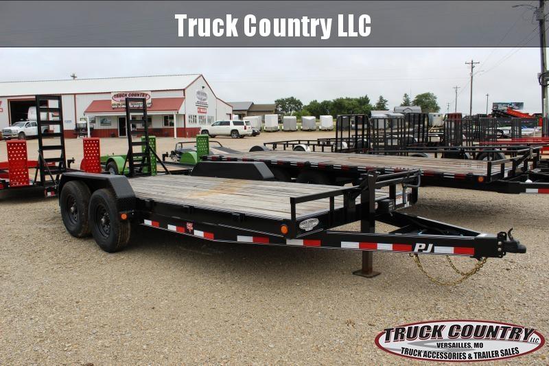 2020 PJ Trailers CC 18' Equipment Trailer