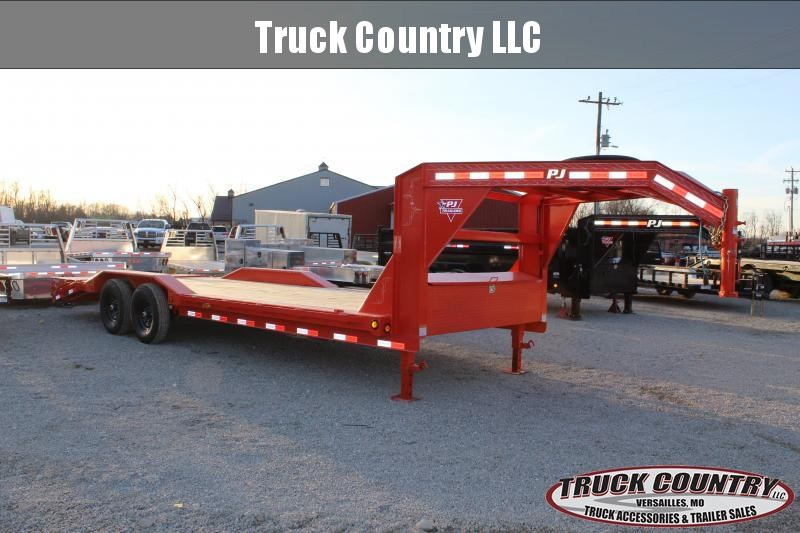 2021 PJ Trailers B6 24' gooseneck superwide Equipment Trailer