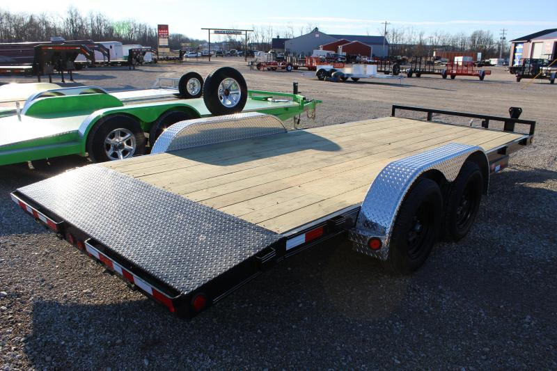 2021 PJ Trailers C5 18' Car / Racing Trailer
