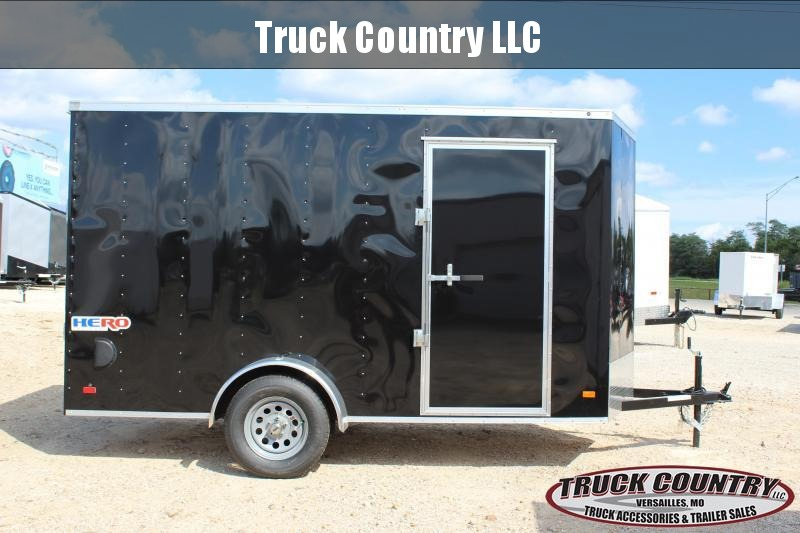 2021 Bravo Trailers 6x12 Hero Enclosed Cargo Trailer