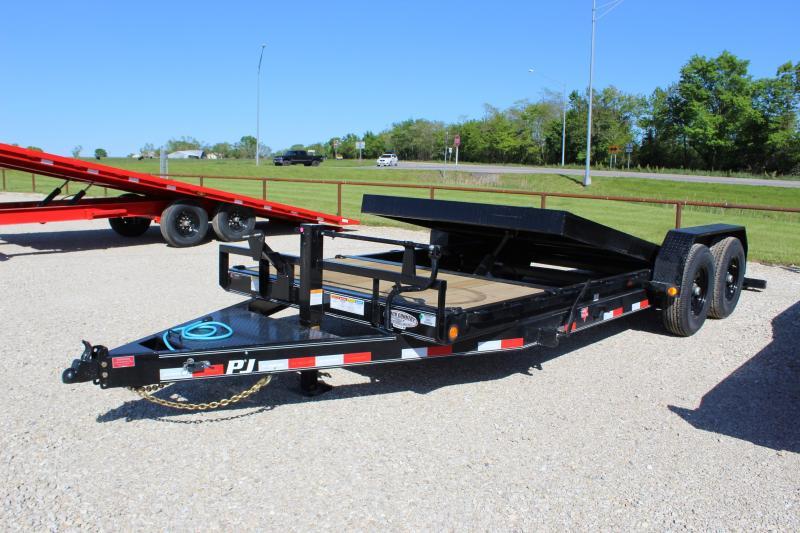 2021 PJ Trailers T6 20' Tilt Equipment Trailer
