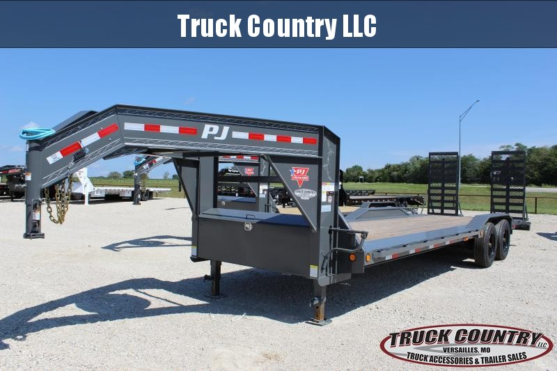 2021 PJ Trailers H7 102x26 gooseneck Equipment Trailer