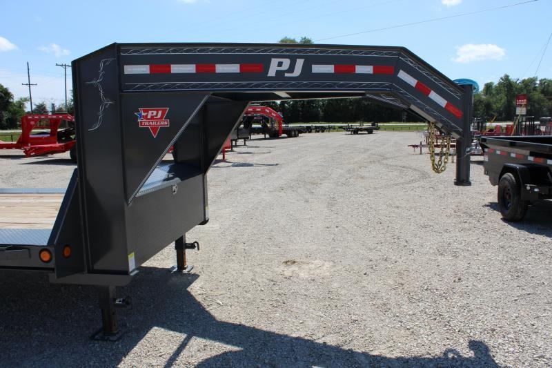 2021 PJ Trailers H7 102x26 gooseneck Equipment Trailer
