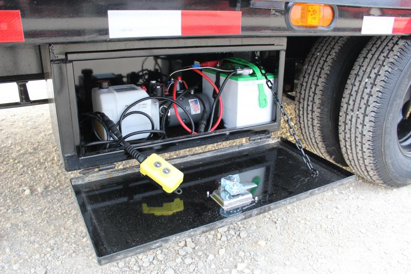 2021 PJ ly gooseneck hydraulic dovetail