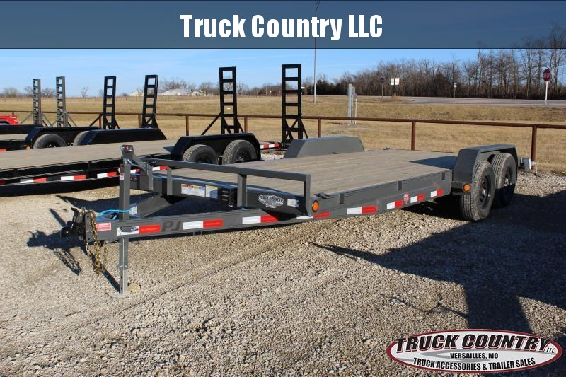 2021 PJ Trailers CE 20' Equipment Trailer
