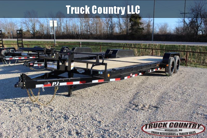 2021 PJ Trailers TJ 24' tilt Equipment Trailer