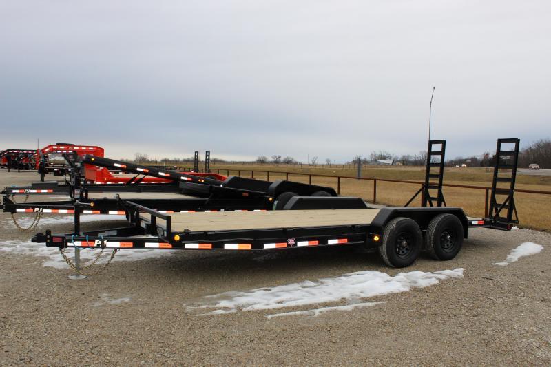 2021 PJ Trailers CE 20' equipment Equipment Trailer