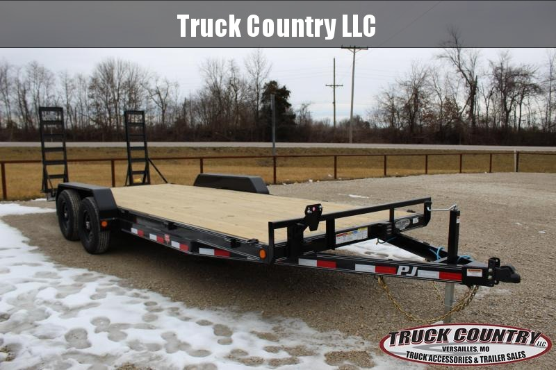 2021 PJ Trailers CE 20' equipment Equipment Trailer