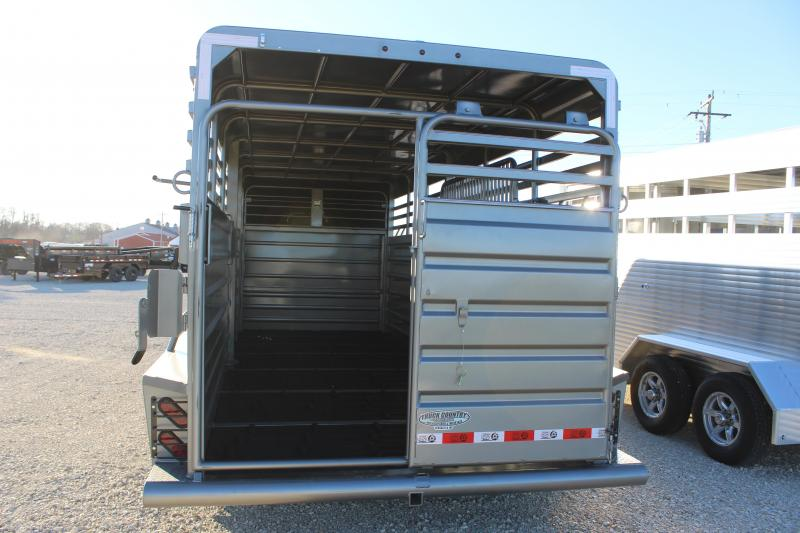 2021 GR Trailers 6.8x20' gooseneck Livestock Trailer