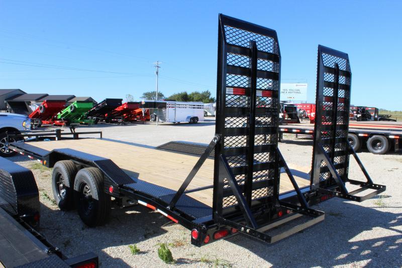"2022 PJ Trailers 102"" x 22' 8"" Pro-Beam Super-Wide Equipment (H6) Equipment Trailer"