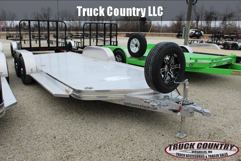 2021 Sundowner Trailers 19' aluminum Car / Racing Trailer
