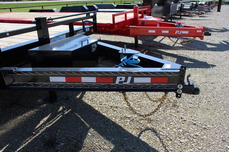 "2022 PJ Trailers 102"" x 22' Deckover Tilt (T8) Equipment Trailer"