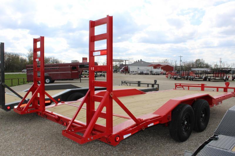 2021 PJ Trailers B6 20' superwide Equipment Trailer