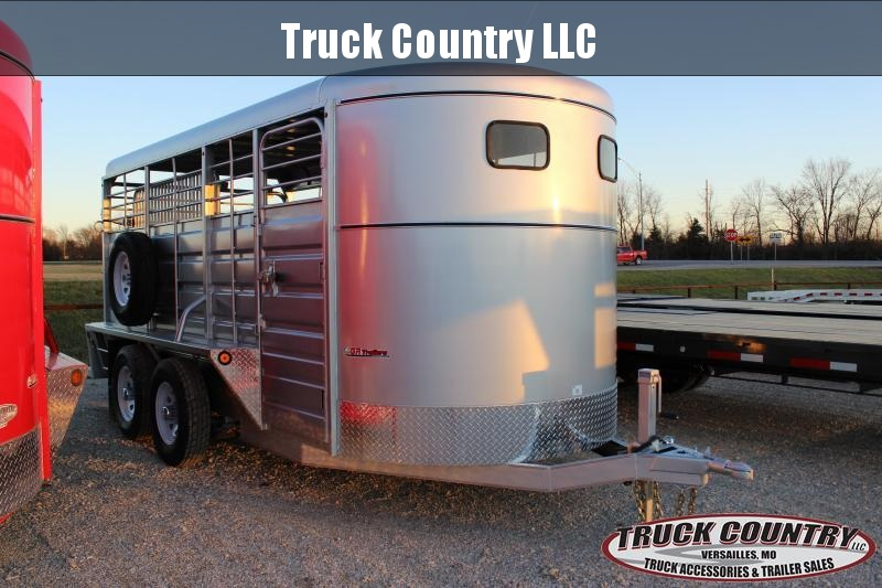 2021 GR Trailers 6.9x16 Livestock Trailer