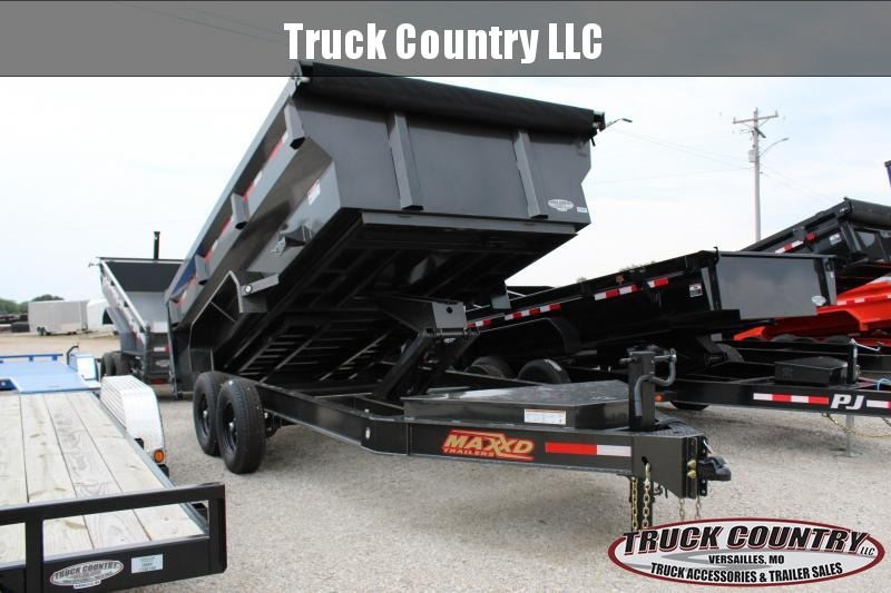 2020 MAXXD DJX 14' dump trailer w/ 3' flare sides